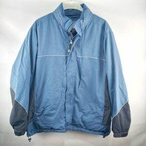 IZOD Men's X-Treme Function Golfwear Jacket w Hood